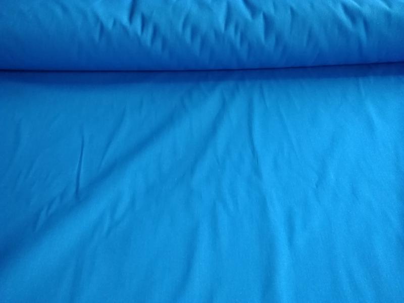 Ткань бязь 150 однотонная синяя фото