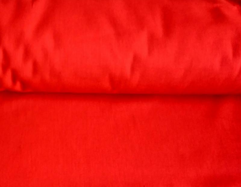 Ткань бязь 150 однотонная красная фото