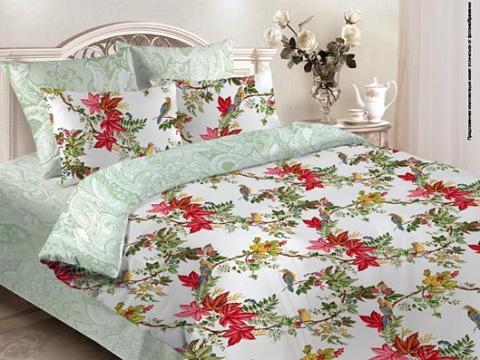 Комплект постельного белья 1.5 спальный Verossa Перкаль Garden 541-4214-50 фото