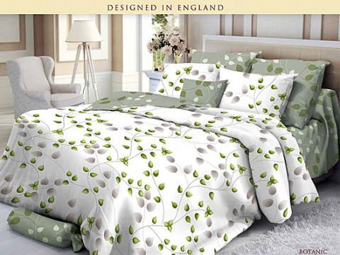 Комплект постельного белья евро Verossa Сатин 564-4711 Botanic фото