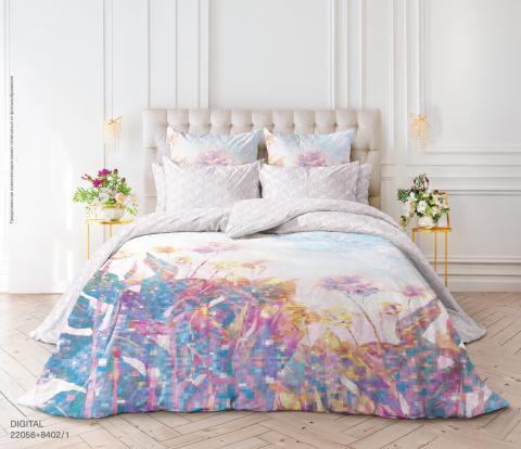 Фото Комплект постельного белья Verossa Перкаль 1.5 спальный 541-2056-50 Digital