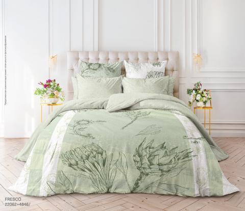 Фото Комплект постельного белья Verossa Перкаль евро 544-2062 Fresco