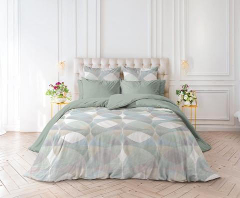 Фото Комплект постельного белья Verossa Перкаль 2 спальный 543-2066-50 Geometric