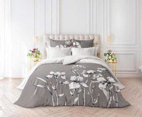 Фото Комплект постельного белья Verossa Перкаль 1.5 спальный 541-2067-50 Iris