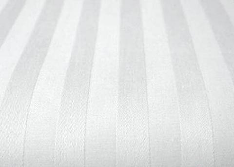 Фото Наволочка сатиновая 70 на 70 ns7-201 Белая полоса