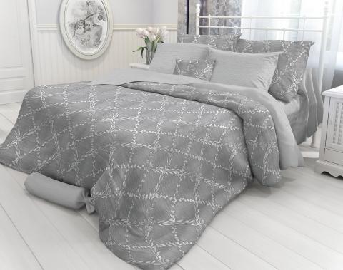 Комплект постельного белья евро Verossa Перкаль 544-2025 Lau фото