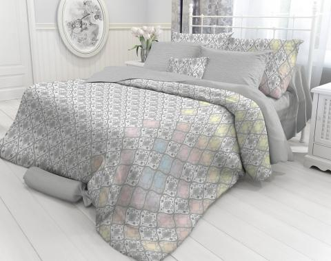 Фото Комплект постельного белья Verossa Перкаль евро 544-8423 Damask