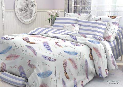 Комплект постельного белья 2 спальный Verossa Перкаль 543-2004-50 Plumelent фото