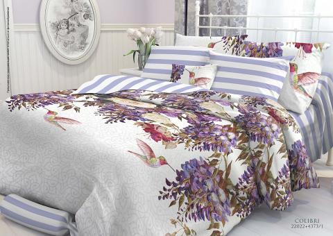 Комплект постельного белья 1.5 спальный Verossa Перкаль 541-2002-50 Colibri фото