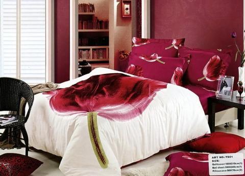 Постельное бельё Танго Сатин 1.5 спальный ts01-145-50 фото