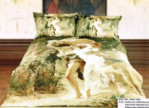Постельное бельё Танго Сатин 1.5 спальный ts01-19a-70 фото