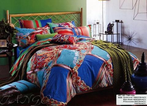 Постельное бельё Танго Сатин 1.5 спальный ts01-33a фото