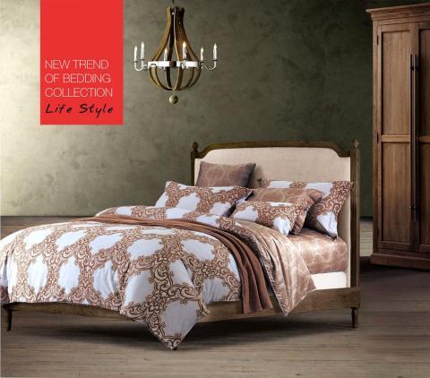 Постельное бельё Танго Сатин 1.5 спальный ts01-672 фото