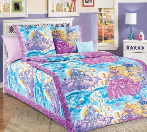 Фото Комплект постельного белья Принцесса 1 бязь 1.5 спальный детский А1100197531