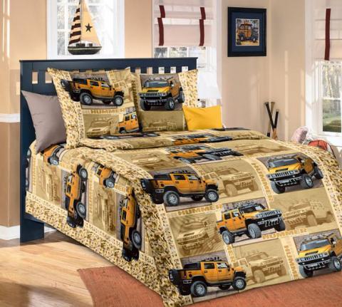 Фото Комплект постельного белья Сафари 1 бязь 1.5 спальный детский А1100191951