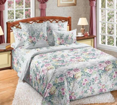 Фото Комплект постельного белья Аллея роз 3 перкаль 1.5 спальный 1200П198263