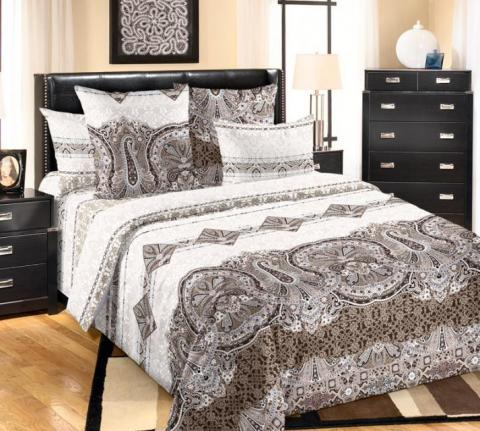 Фото Комплект постельного белья Белла 1 сатин евро-макси