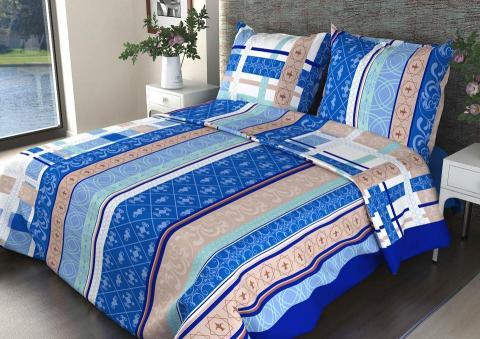 Ткань бязь 150 ГОСТ Аккорд синий фото