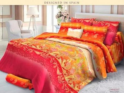 Комплект постельного белья евро Verossa Сатин 564-4806 Sankara фото