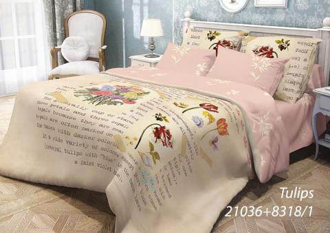 Фото КПБ Волшебная ночь 1.5 спальный 511-1036-50 Tulips
