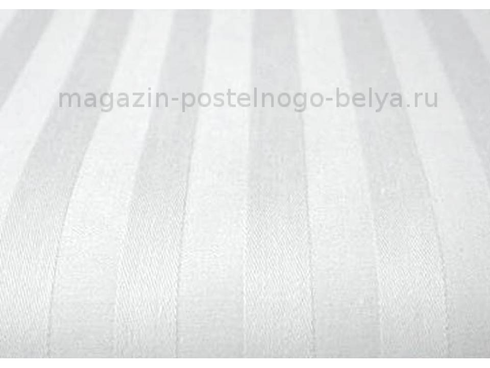Фото Наволочка сатиновая 50 на 70 ns5-201 Белая полоса