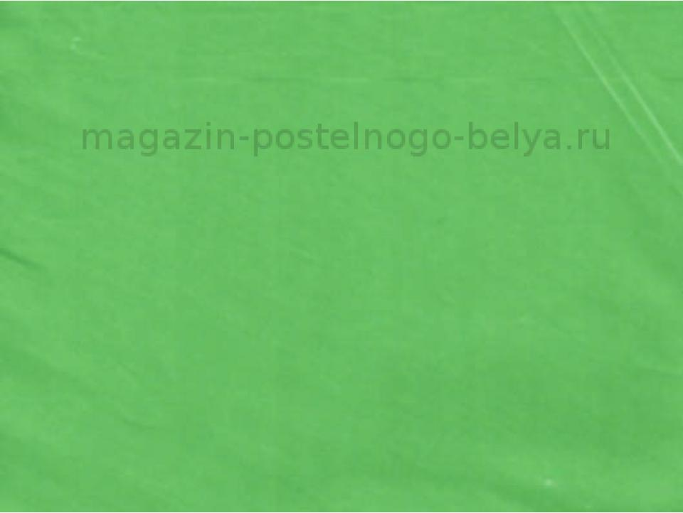 Фото Наволочка сатиновая 70 на 70 ns7-204 Зеленый бутон