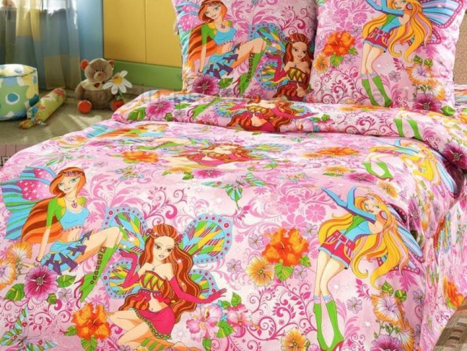Фото Комплект постельного белья Добрые феи 1 бязь 1.5 спальный детский А110093541