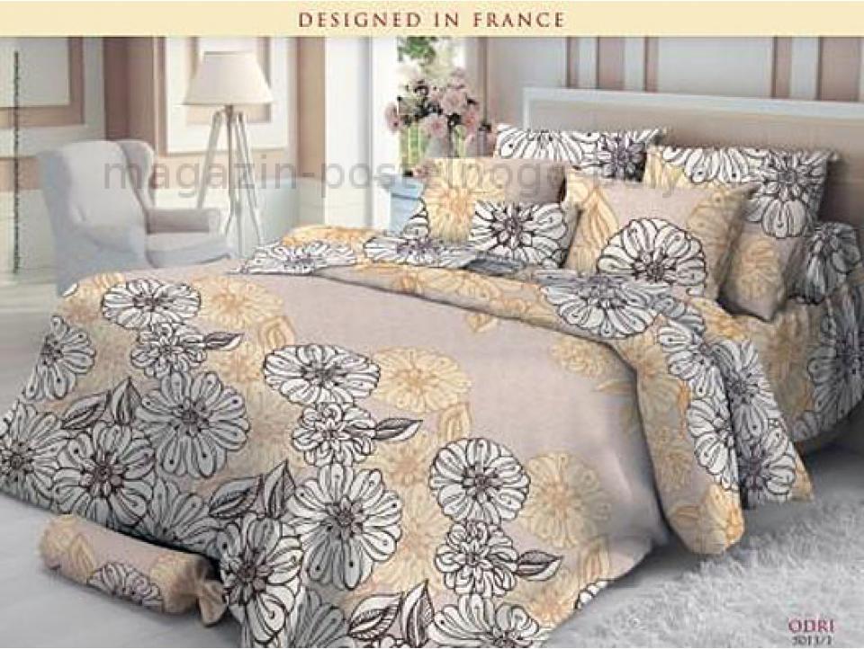 Комплект постельного белья 1.5 спальный Verossa Сатин 561-5013 Odri фото