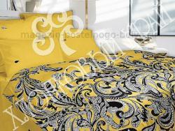 Комплект постельного белья 1.5 спальный Хлопковый край Сатин 361-5491-3 Лакшми фото