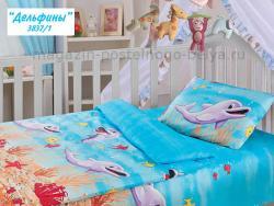 Детское постельное белье из бязи Облачко 510-3837 фото