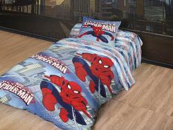 Комплект постельного белья 1.5 спальный детский Бязь-люкс Человек-Паук 511-158 фото