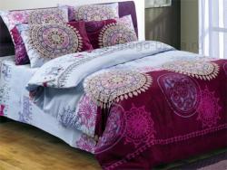 Комплект постельного белья евро Волшебная ночь Бязь-люкс Северная сказка 514-3472 фото