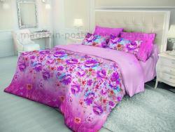 Комплект постельного белья евро Волшебная ночь Акварель 514-4574 фото