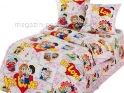 Ткань бязь 150 детская Очаровашки фото
