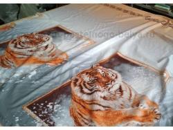 Ткань бязь 150 ГОСТ Тигр фото