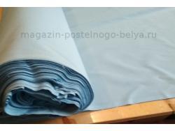 Ткань бязь 150 ГОСТ голубая фото