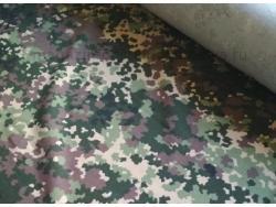 Ткань диагональ 150 см камуфляж 3 излом зеленый фото