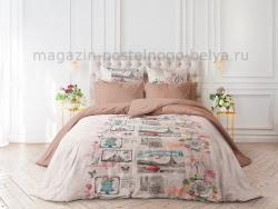 Фото Комплект постельного белья Verossa Перкаль семейный 545-2060 Cartolina