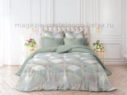 Фото Комплект постельного белья Verossa Перкаль 1.5 спальный 541-2066-70 Geometric