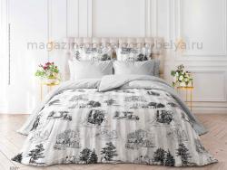 Фото Комплект постельного белья Verossa Сатин семейный 565-3039 Jouy