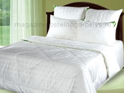 Одеяло бамбуковое 1.5 спальное летнее (тонкое)