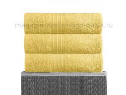 Полотенце махровое Bayramaly 70х140 лимон фото