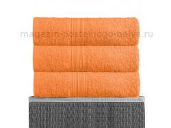 Полотенце махровое Bayramaly 70х140 оранжевое фото