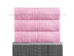 Полотенце махровое Bayramaly 70х140 розовое фото