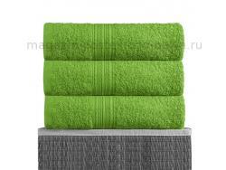 Полотенце махровое Bayramaly 70х140 зелёное фото