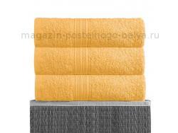 Полотенце махровое Bayramaly 70х140 жёлтое фото