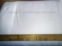 Вафельное полотно 45 см 230 г цвет белый фото