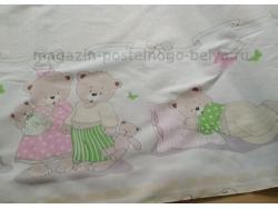 Ткань поплин 150 детский Сладких снов фото