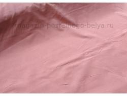 Ткань поплин однотонный Брусника фото