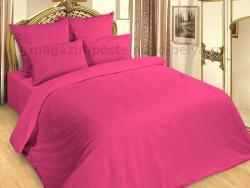 Фото Комплект постельного белья семейный Сатин 265-244 Фуксия